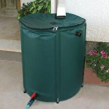 Collapsible Rain Water Barrel 50 Gallon  Collector Storage Spout Container Tank