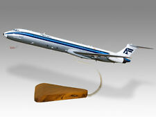 McDonnell Douglas MD-88 Aviaco Solid Mahogany Wood Desktop Airplane Model