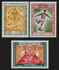 ALGERIE N°474/475**  Sport jeux olympiques Mexico 1967, ALGERIA Olympic Games NH