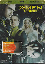 Blu-ray + Dvd + Digital Copy **X-MEN ~ L'INIZIO** nuovo 2011