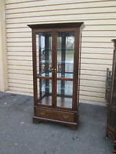 57643 PENNSYLVANIA HOUSE Curio China Cabinet w/ Drawer