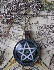 Pentagram Pentacle Wicca Wiccan Magick Protection Magic PENDANT NECKLACE &CHAIN