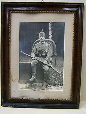 Bella vecchio Legno Cornice KS Fanteria Reggimento 177, Kamenz, Sassonia