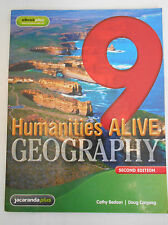 Humanities Alive Geography 9 by Cathy Bedson Doug Cargeeg