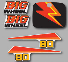 1987 YAMAHA BW80 BIG WHEEL COMPLETE DECAL GRAPHIC KIT