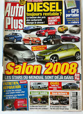 AUTO PLUS du 13/05/2008; Salon 2008/ BMW M3, Mercedes C63, AMG/ Fiat 500, Twingo