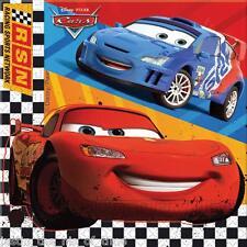 DISNEY CARS Serviettes Boys Party Tableware Square Paper 33cm NAPKINS x20