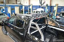 2016+ NISSAN NAVARA np300 Sport Rollbar Roll Bar Accessori in Acciaio Inox