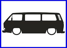 VW T3 T25 CARAVELLE TRANSPORTER SILHOUETTE DECAL STICKER