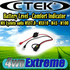 CTEK COMFORT INDICATOR EYELIT 8MM LED CHARGE LIGHTS SUITS ALL MXS5.0XS0.8 56-382