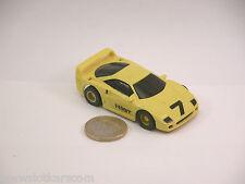 Tyco Carrosserie neuve Ferrari F40 GT jaune