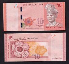 Malaysia 10 Ringgit (2012) P53 Zeti Sign paper money - UNC