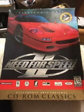 Need for Speed II EA Games PC CD-Rom Classics Big Box Collectible 1997