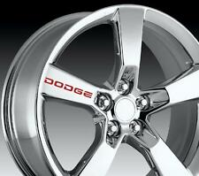 8 X Dodge Wheels Decals Stickers Door Handle Graphics Vinyl Emblem Logo I I