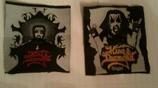 King diamond vintage patches lot