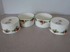 Royal Albert Old Country Roses Ramekin Set of 4 Dishes