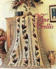 Vine Trellis Quilt Pattern Pieced/Applique PS