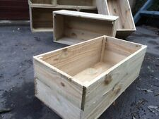 1x budget box Rustic wooden crate old vintage industrial fruit timber wooden $15