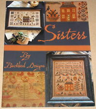 "Blackbird Designs ""Sisters"" Cross Stitch Sampler Patterns"