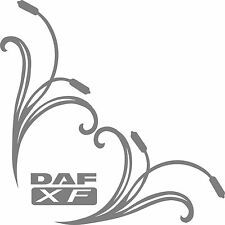 DAF xf truck cab window stickers (pair)