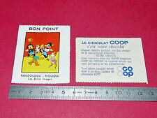 CHROMO 1960 ECOLE BON-POINT ROUDOUDOU RIQUIQUI BELLES IMAGES COOP BEGLES