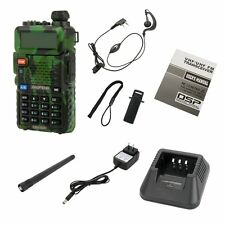 BAOFENG UV-5R Camouflage VHF/UHF CTCSS Dual Band HAM Walkie Talkies