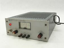 HP HARRISON 6204B VARIABLE DUAL OUTPUT DC POWER SUPPLY 0-40V .3A 0-20V .6A
