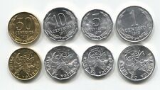 CHILE 1 5 10 50 CENTAVOS KM 203-206A 1975-1979 UNC COIN SET OF 4