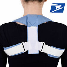 Power Adjustable Posture Back Corrector Support Brace Therapy Shoulder Band MES