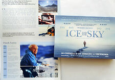 2 X ICE AND THE SKY FILM FLYERS LUC JACQUET CLAUDE LORIUS
