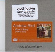 (DI916) Andrew Bird, Give It Away - 2012 DJ CD