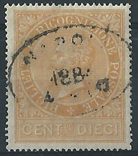 1874 It. Regno Ricognizione Postale V.E. II 10c. US Cat. Sass. RP1 € 600,00