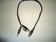 Cassette Recorder Interface Cable, TRS80 CoCo, Mod I, Mod III, Mod 4, Mod 100
