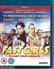 Fast Girls (Blu-ray, 2012) Rental Copy NEW SEALED
