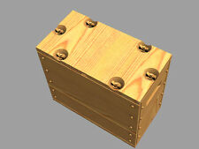 1/35 PANZER ART RE35-378 SIX AMMO BOXES for US 0.303 ammo (WOODEN PATTERN)