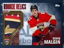 Digital Card: TOPPS NHL Skate Rookie Relics Red Variant 3.5x Boost Denis Malgin