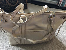 NINE WEST BEIGE BROWN TOTE BAG HANDBAG NEW