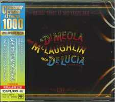 AL DI MEOLA.JOHN MCLAUGHLIN.PACO DE LUCIA-FRIDAY NIGHT IN SAN FRAN-JAPAN CD B63