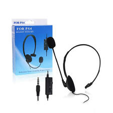 For Playstation 4 New Wired Gaming Headset Headphone with MIC/Volume Control PS4