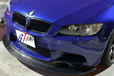 BMW GENUINE E90 E91 E92 E93 M3 BUMPER CARBON FRONT LIP SPOILER GT4 STYLE
