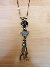 Lucky Brand Mint Metal Pendant Necklace MSRP $49