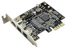 SYBA SD-PEX30009 Low Profile PCI-Express 1394B Firewire Controller Card - NEW