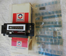 NOS 78 79 80 81 Trans Am Camaro Firebird Z28 GM Delco AM FM stereo radio face !