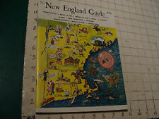 the NEW ENGLAND GUIDE annual 1960-1961; 108pgs