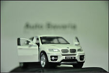 BMW X6 PULLBACK 1:43 White NEW with box