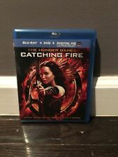 The Hunger Games: Catching Fire (Blu-ray/DVD, 2014, 2-Disc Set)