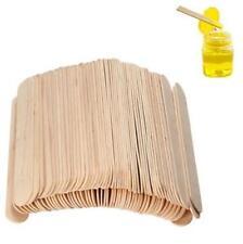 100Pcs Tattoo Medical 6 Inch Waxing Spatula Wax Stick Wooden Tongue Depressor
