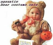New American Girl Bitty Baby Trick Or Treat Halloween BEAR COSTUME ONLY Or Twins