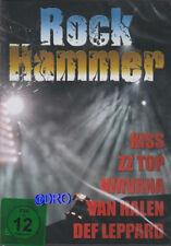 ROCK HAMMER + DVD + KISS + ZZ Top + Megadeth + Def Leppard + Nirvana + Foreigner