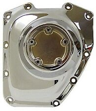 TWIN CAM 2001-LATER CHROME GEAR CASE TIMING CAM COVER, RPL HD# 25369-01